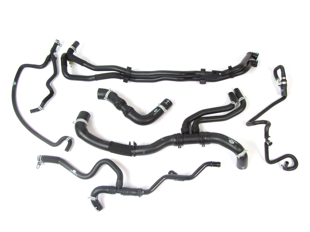 radiator and coolant hose kit