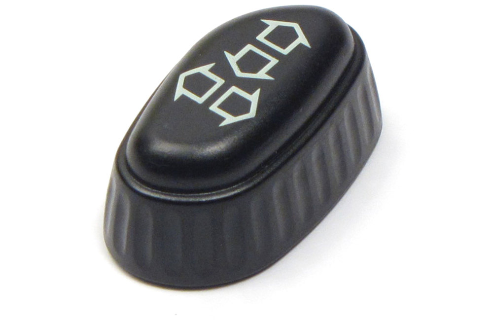 Genuine Recline Seat Switch Knob Cap HSD500030PUY, Left Hand, For Land Rover Discovery Series II, 1999 - 2002