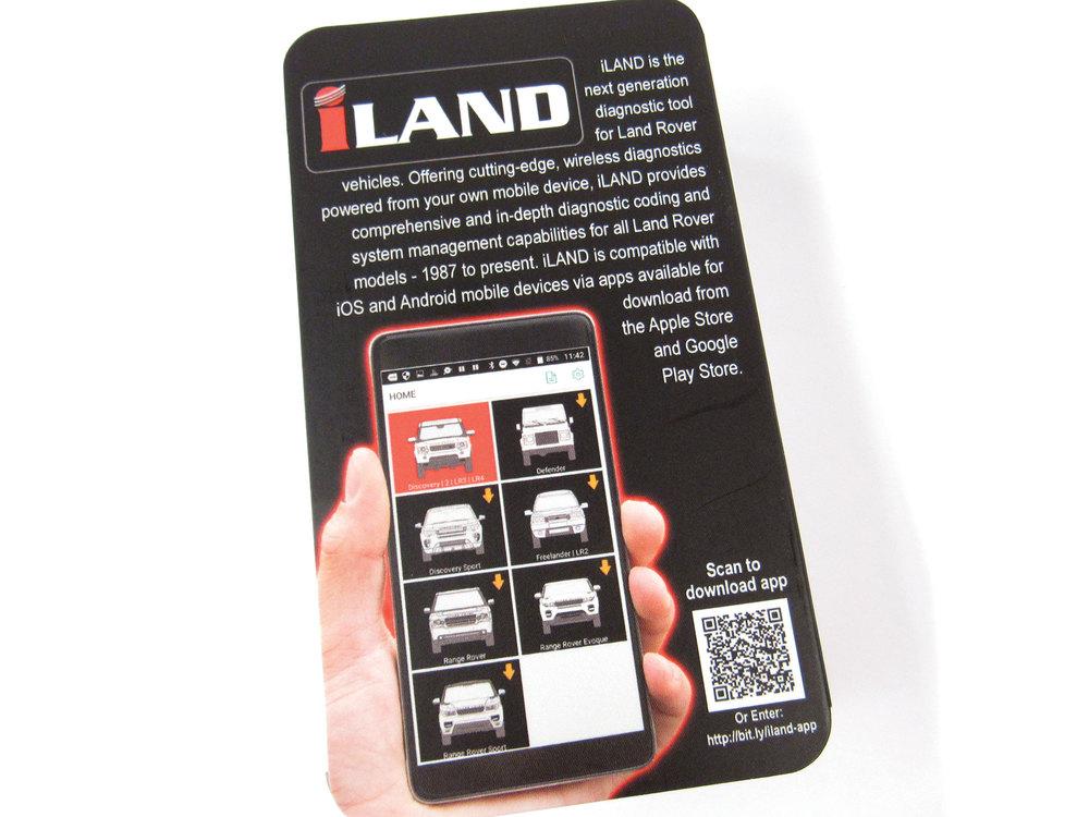 iLAND Advanced Diagnostics - Bluetooth Scanning Adapter