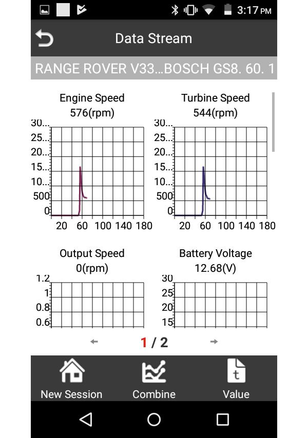 iLAND Engine Graph Data Example
