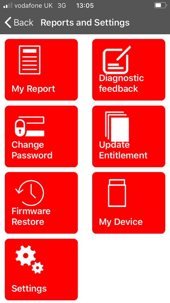 iLAND App Reports