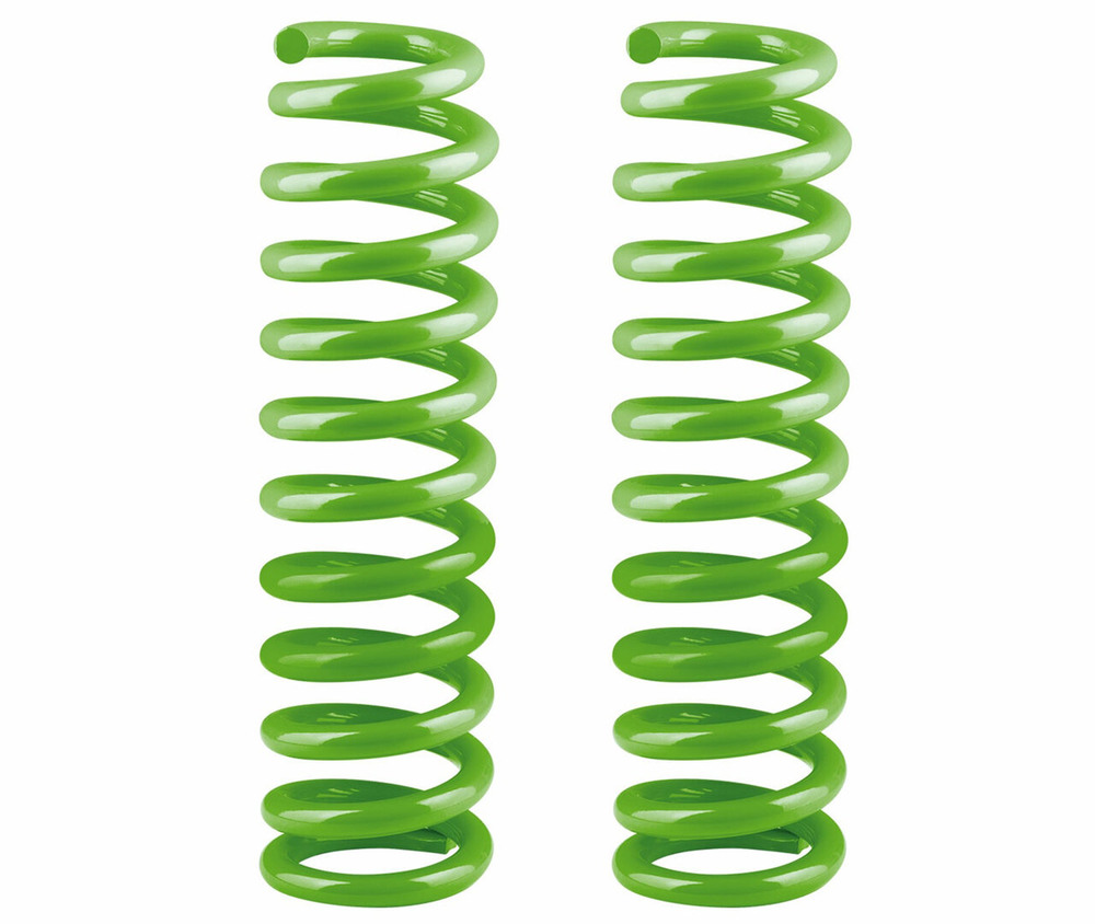 Performance Front Suspension Coil Springs By Ironman 4X4, Pair, 0-110 Lbs, 2-Inch Approximate Lift, For Land Rover LR3