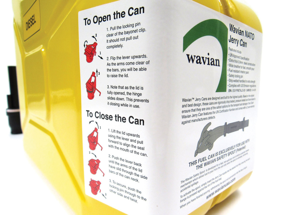 Jerry Can instructions