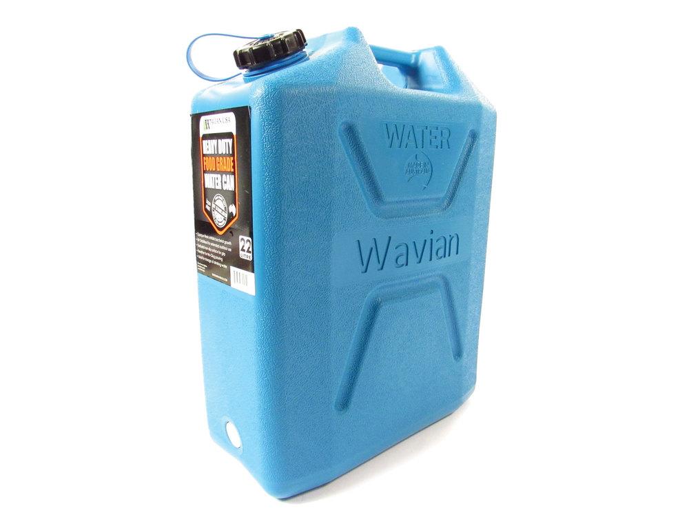 Wavian heavy duty water can