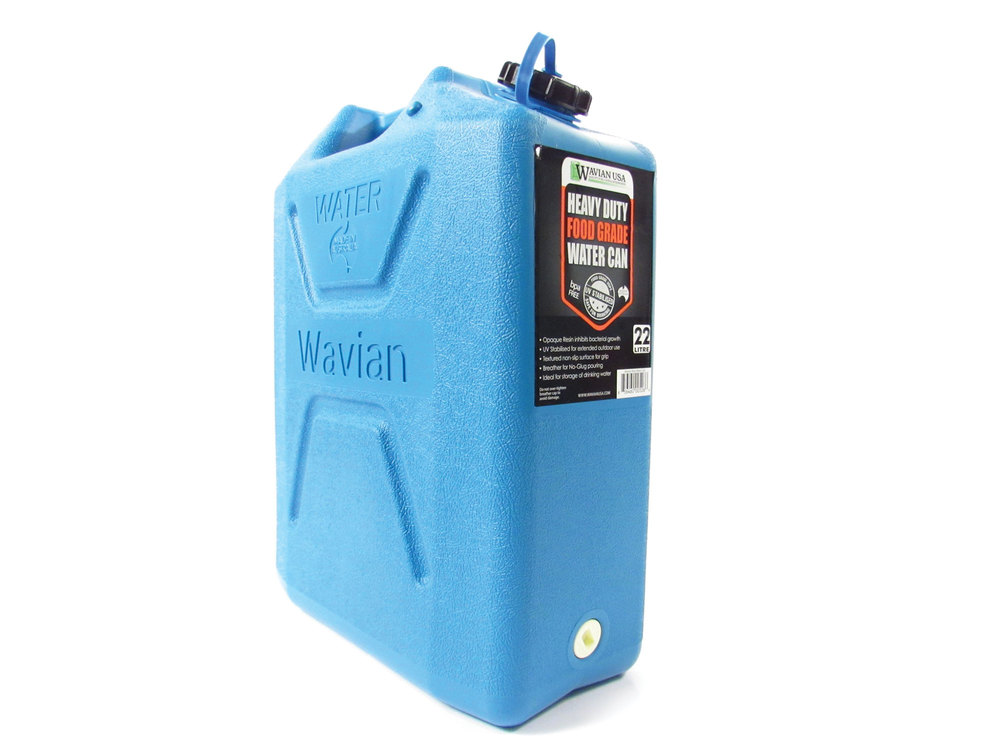 5 gallon H2O Jerry can