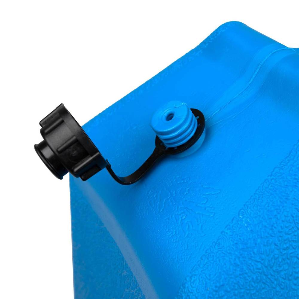 Water jerry can air release valve hole and cap