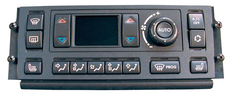 Range Rover climate control head