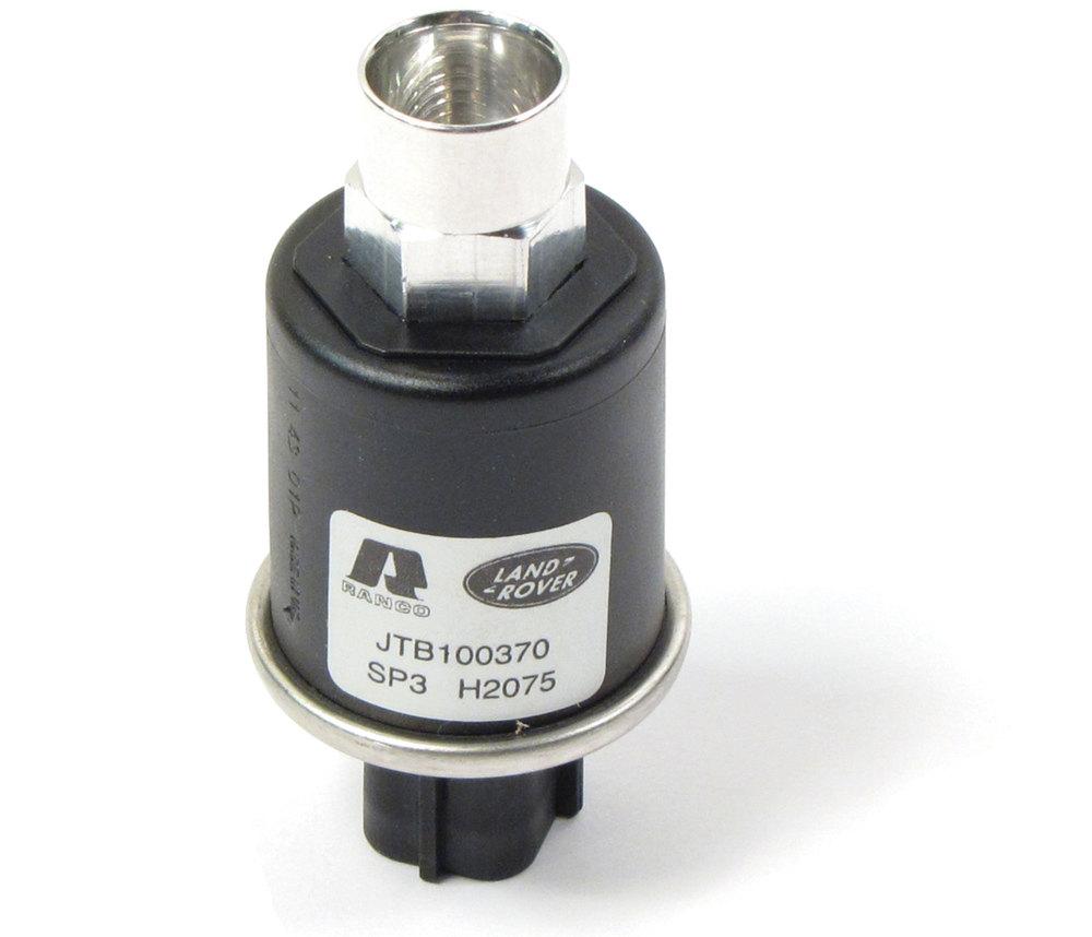 Genuine A/C Trinary Switch JTB100370, Screws Into Receiver Drier, For Range Rover P38