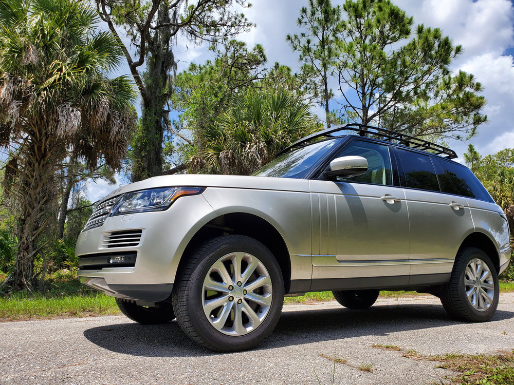 Overland Roof Rack, Low Profile Height, By Voyager Offroad, For Range Rover Full Size L405, 2013 - On