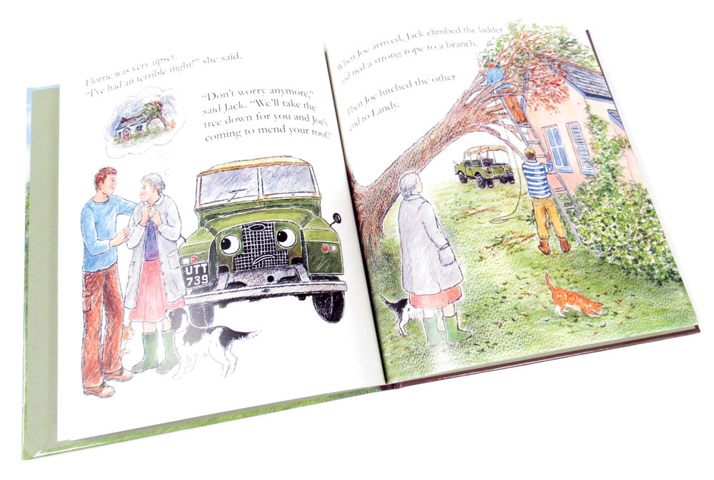 Book: Landy And The Apple Harvest, A Children's Land Rover Series Storybook