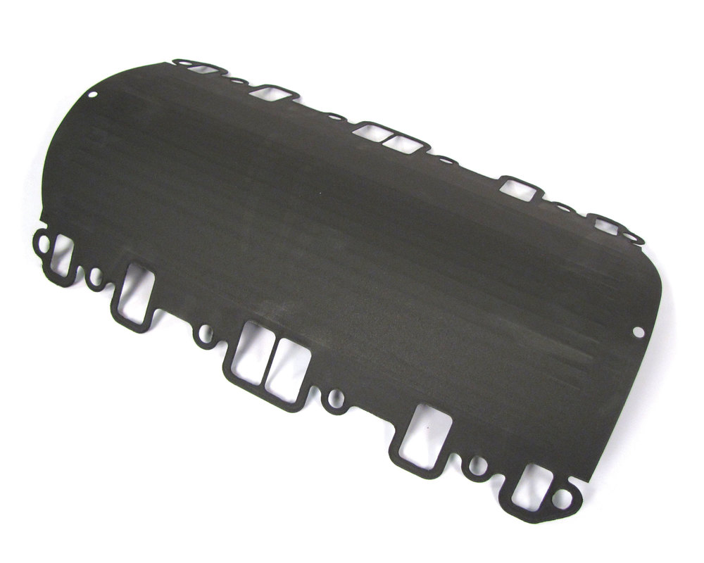 Gasket, Intake Manifold Valley, Original Equipment LKJ500020, New Style, For Land Rover Discovery I, Discovery Series II, Defender 90 And 110, Range Rover P38, And Range Rover Classic