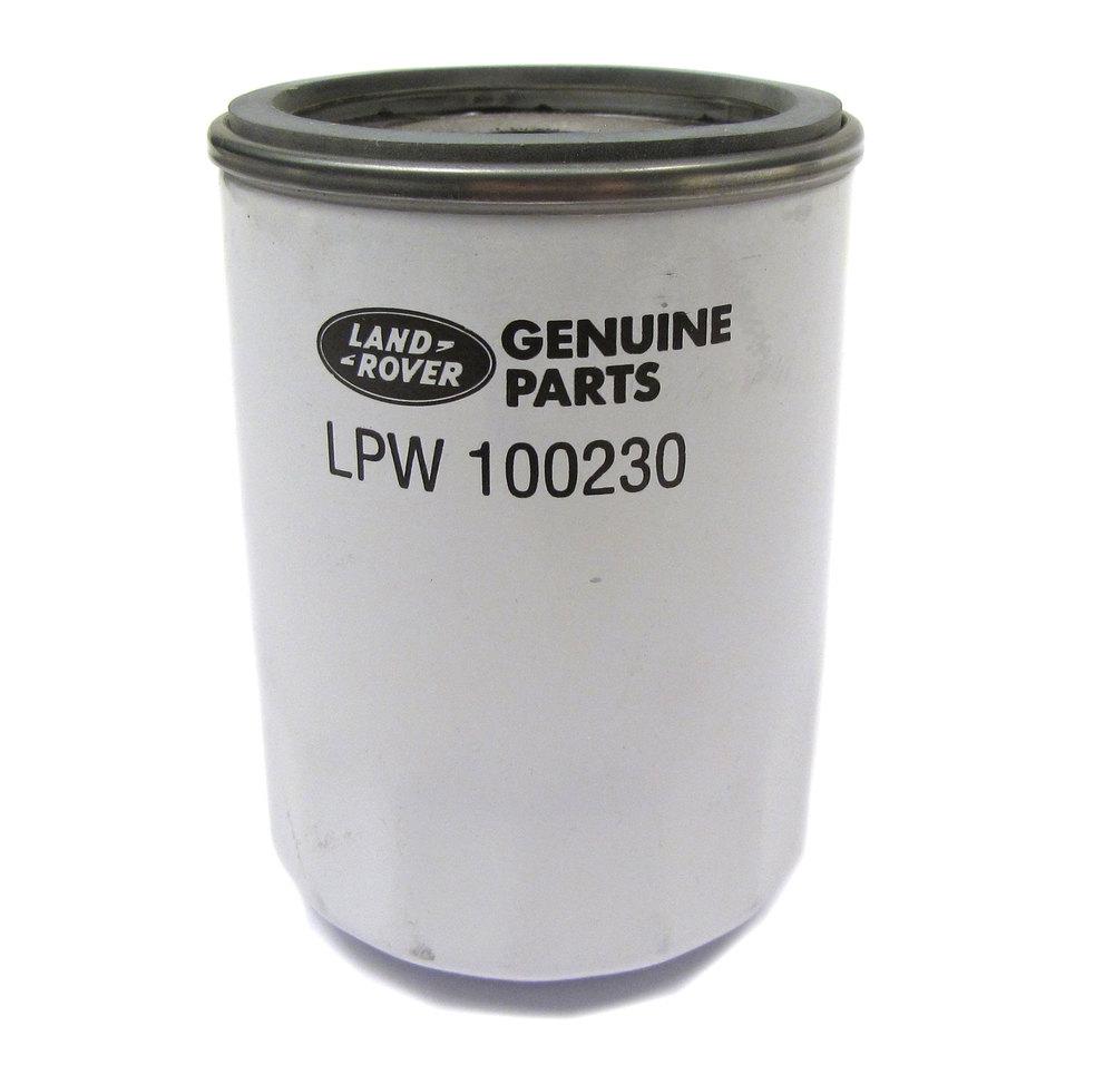 Genuine Oil Filter LPW100230 For Land Rover Freelander, 2002 - 2005