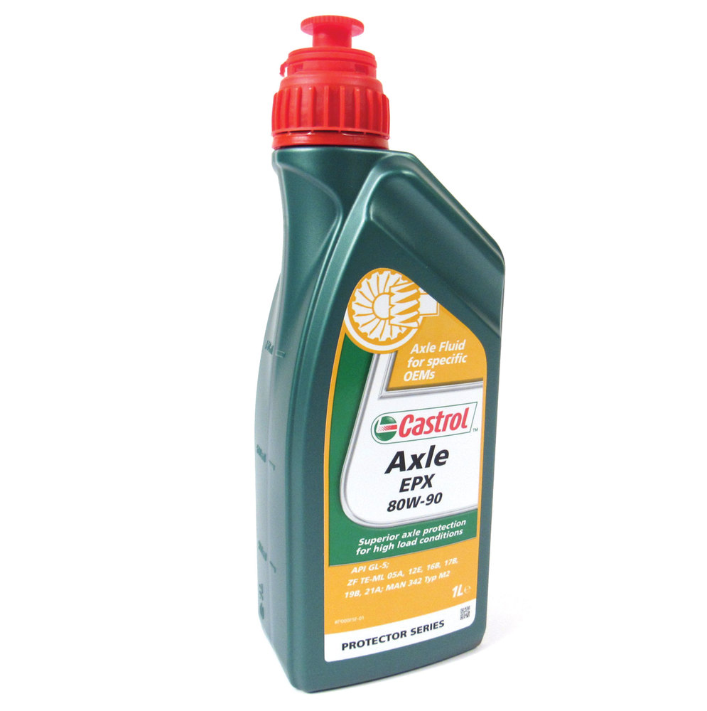 Differential Fluid, 1 Liter Castrol EPX 80W-90 For Land Rover LR2 And Range Rover Evoque