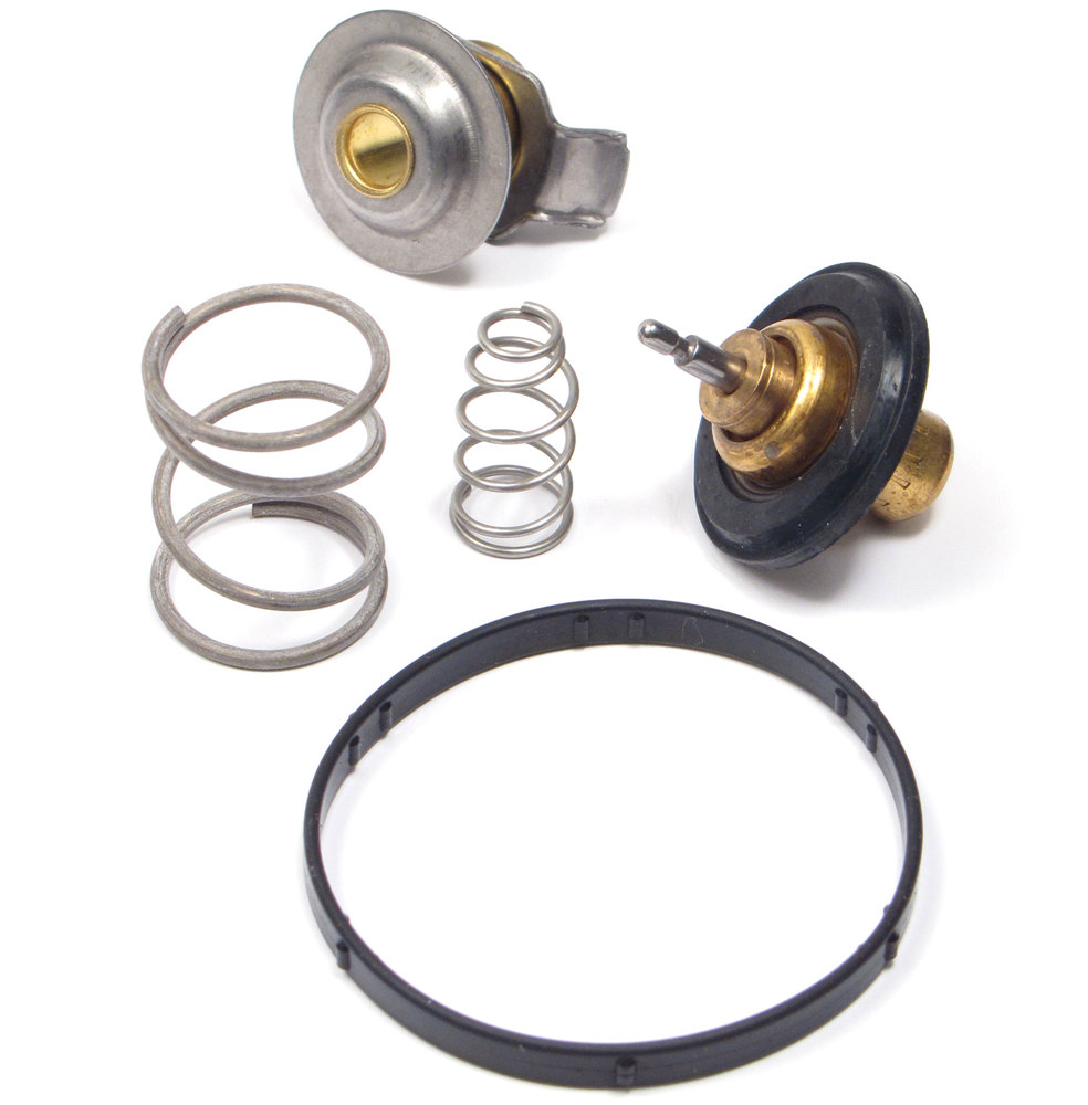 Genuine Engine Thermostat LR005765 With O-Ring Gasket, For Land Rover LR3, Range Rover Full Size L322, And Range Rover Sport (See Fitement Years)