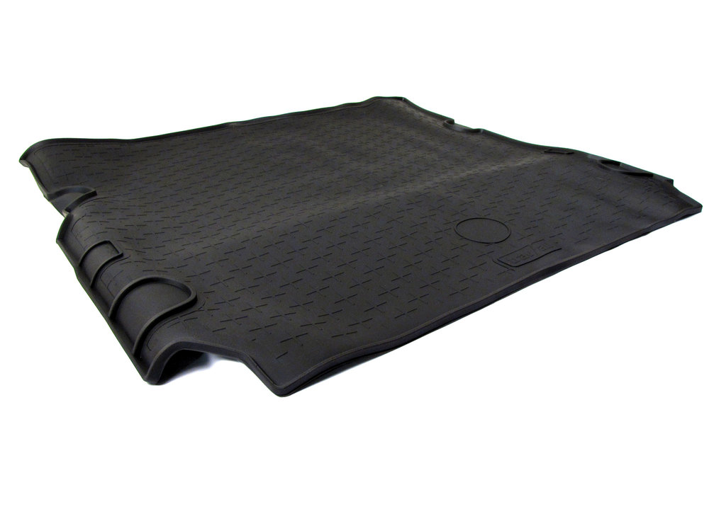 Cargo Liner Loadspace Mat By Travall, Black Rubber, Rollable, For Land Rover LR3 And LR4