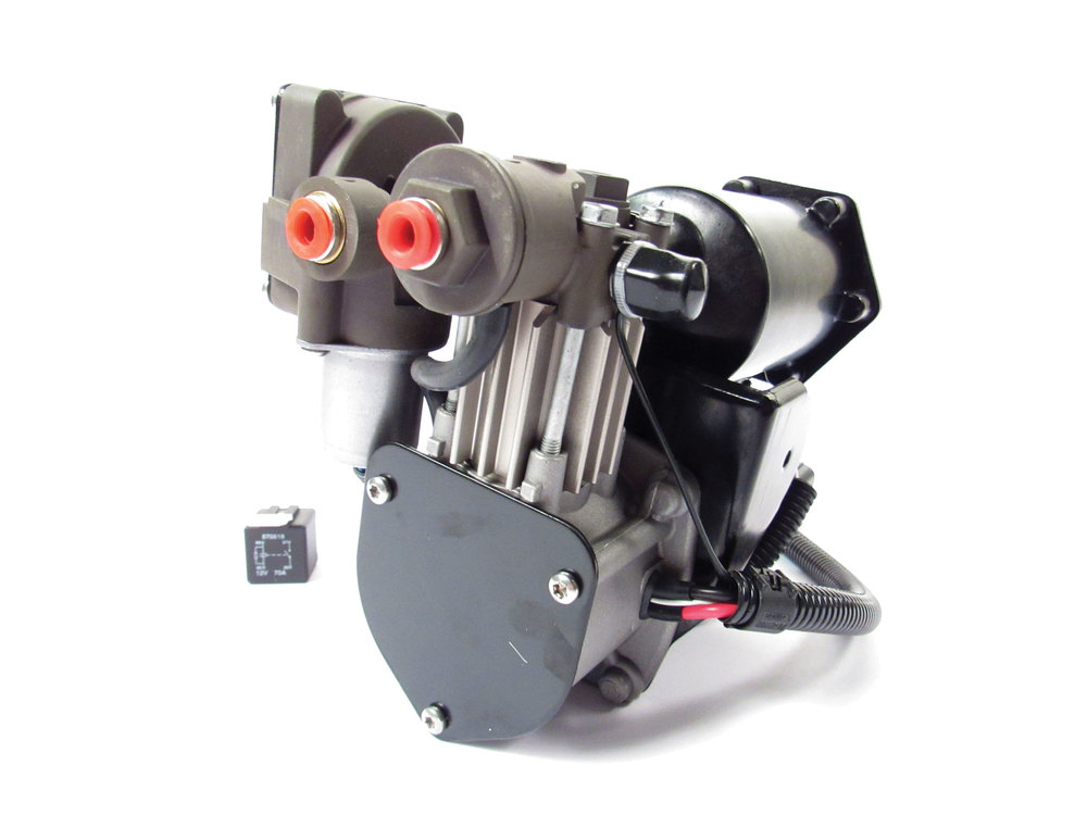 Hitachi-Style EAS Compressor For Land Rover LR3, LR4 And Range Rover Sport (No Programming Required)