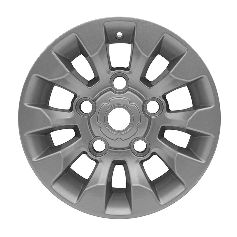 Sawtooth Style Alloy Wheel 16 X 7 Inch LR025862, Silver, For Land Rover Discovery I, Defender 90, And Range Rover Classic (See Fitment Years)