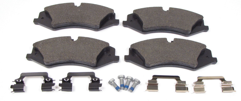 (4) brake pads and hardware - LR026221G