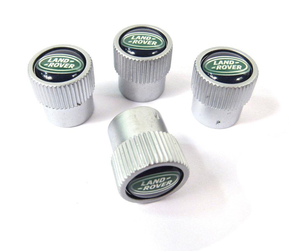 Land Rover tire valve caps