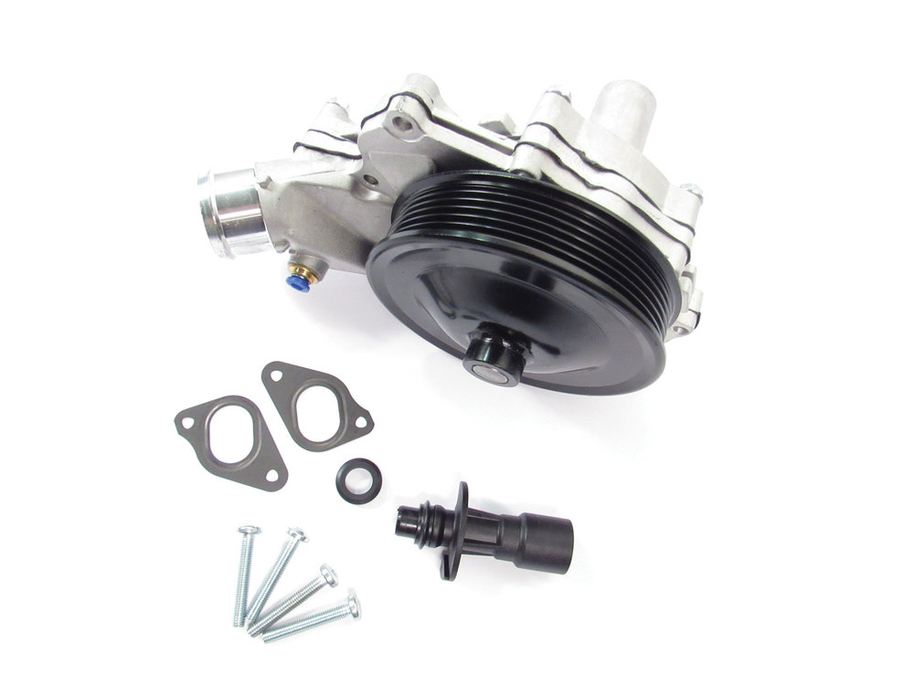 Water Pump Kit, With Gaskets And Outlet Pipe And O-Ring, For Land Rover LR4, Range Rover Sport And Range Rover Full Size (See Fitment Years)