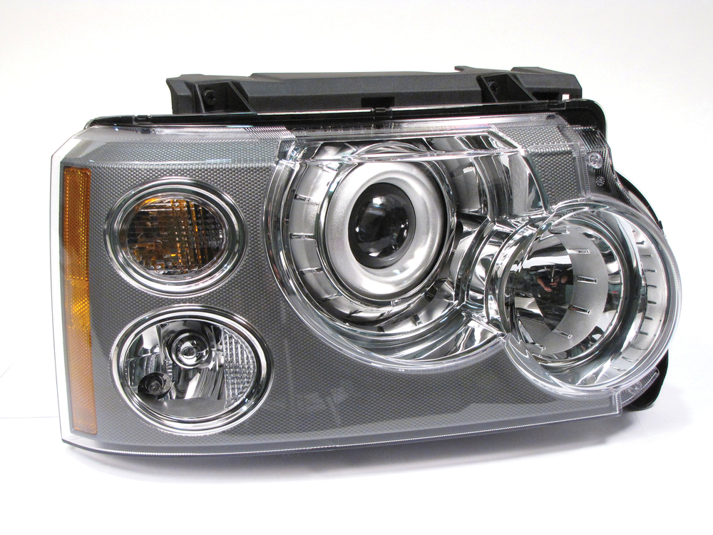 Genuine Headlight Assembly, Xenon, Right Hand, For Range Rover Full Size L322, 2006 - 2009