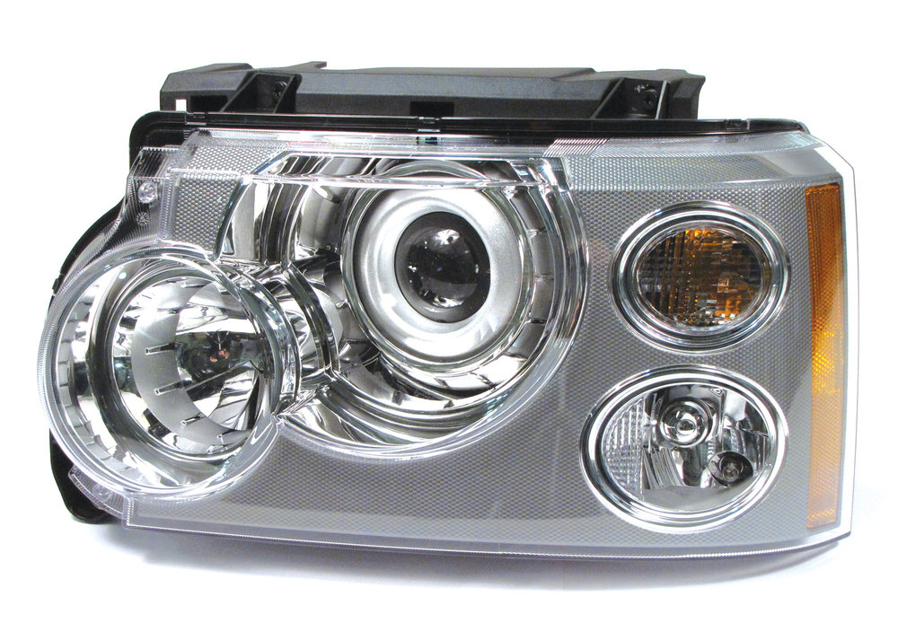 Genuine Headlamp Assembly, Left Hand, Xenon Adaptive, For Range Rover Full Size L322 (See Fitment Years)