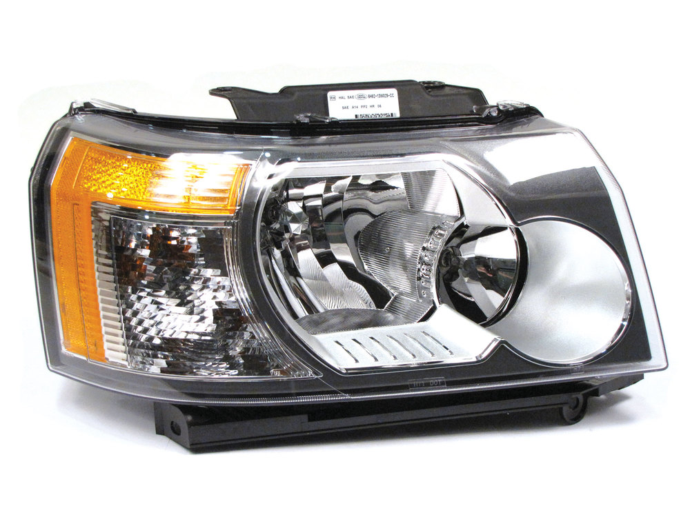 Headlamp Assembly - Halogen - Non-Adaptive - Right Hand