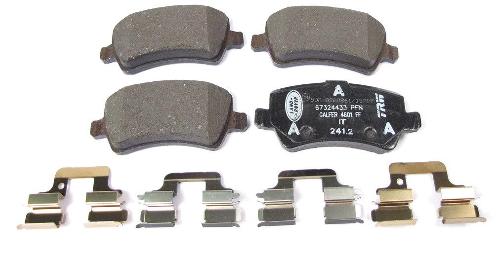 LR2 rear brake pads