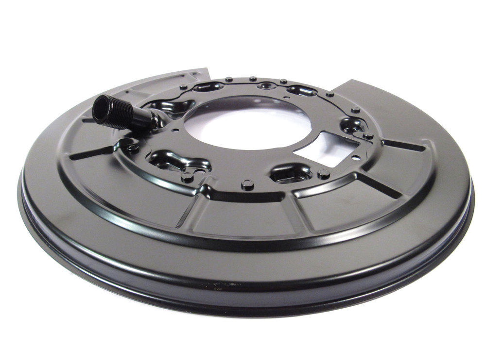 Brake Backing Plate Dust Shield, Right Rear, For Land Rover LR3, LR4 And Range Rover Sport (See Fitment Years)