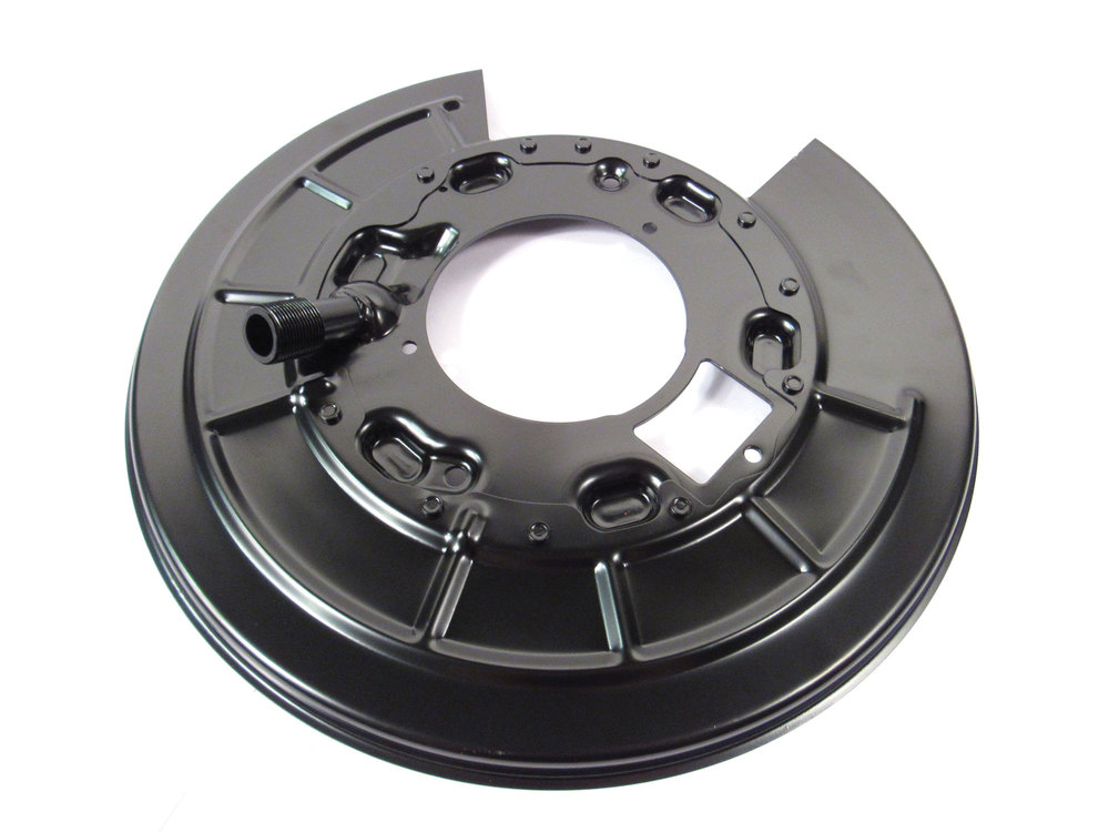 Brake Backing Plate Dust Shield LR048810, Right Rear, For Land Rover LR3, LR4 And Range Rover Sport (See Fitment Years)