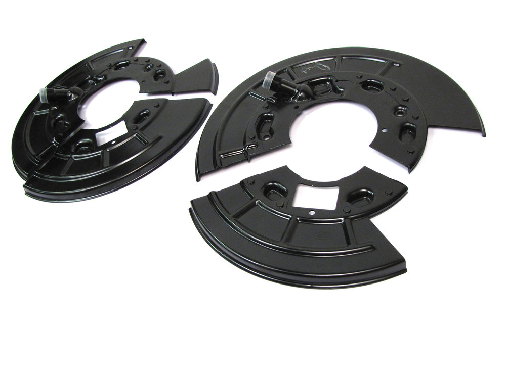 Rear Brake Split Backing Plate Kit, Left And Right, For Land Rover LR3, LR4 And Range Rover Sport
