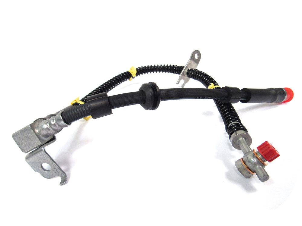 Front Brake Hose, Right Hand, For Land Rover LR3 And LR4 (See Model Details)