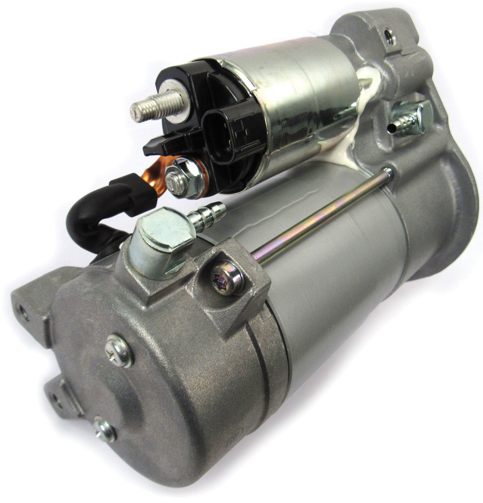 Starter Motor With Automatic Stop/Go