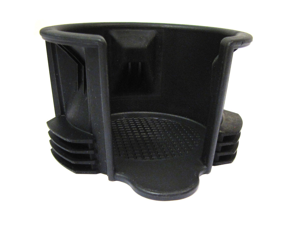 Genuine Cup Holder LR087454, Reduced Size Insert, For Land Rover LR3, LR4, Range Rover Sport And Range Rover Full Size (See Fitment Years)