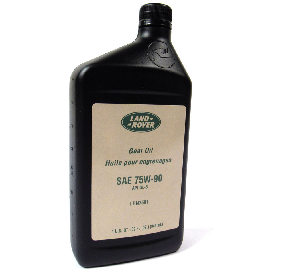 Genuine Differential / Axle Oil 75W90R GL5 Fluid, 1 Quart, For Land Rover LR3, Freelander, Range Rover Sport And Range Rover Full Size
