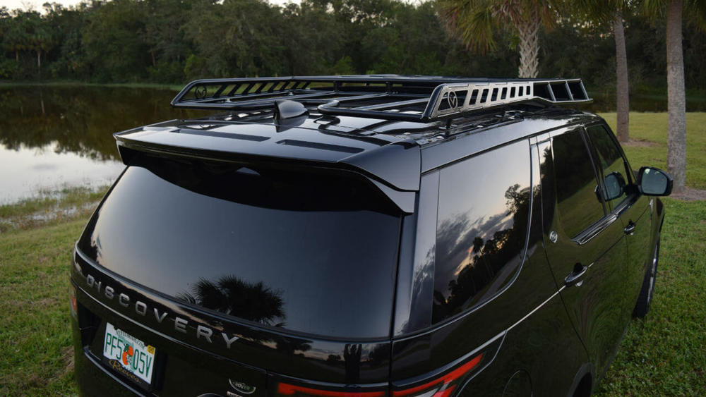 Overland Roof Rack, Low Profile Height, By Voyager Offroad, For Land Rover Discovery 5