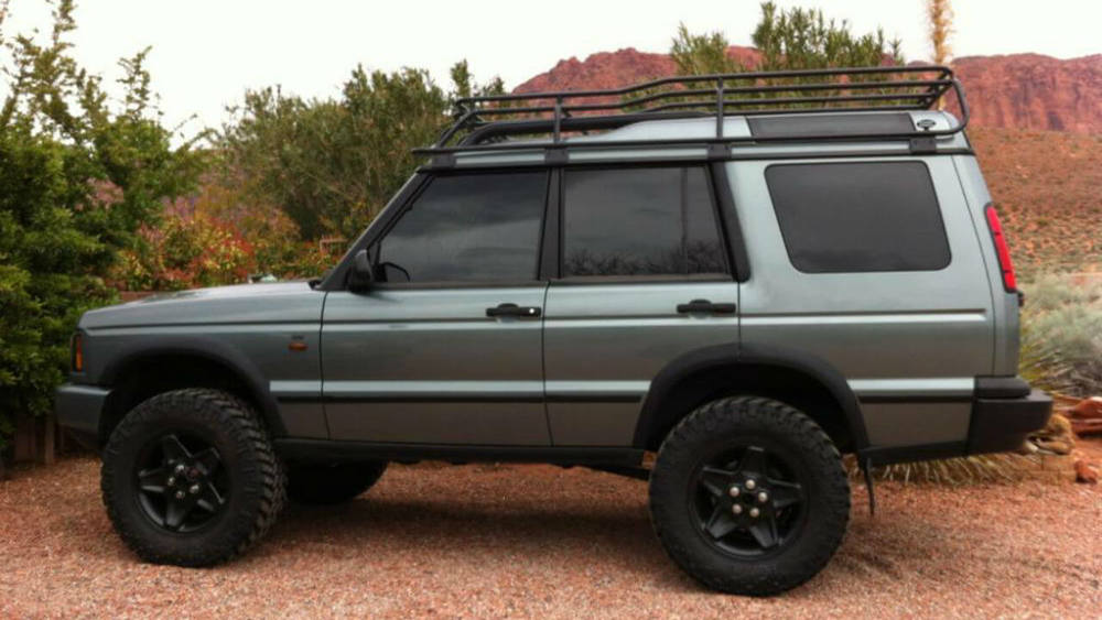 Overland Roof Rack, Low Profile Height, By Voyager Offroad, For Land Rover Discovery II