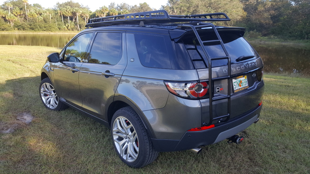 Overland Roof Rack, Standard Height, By Voyager Offroad, For Land Rover Discovery Sport