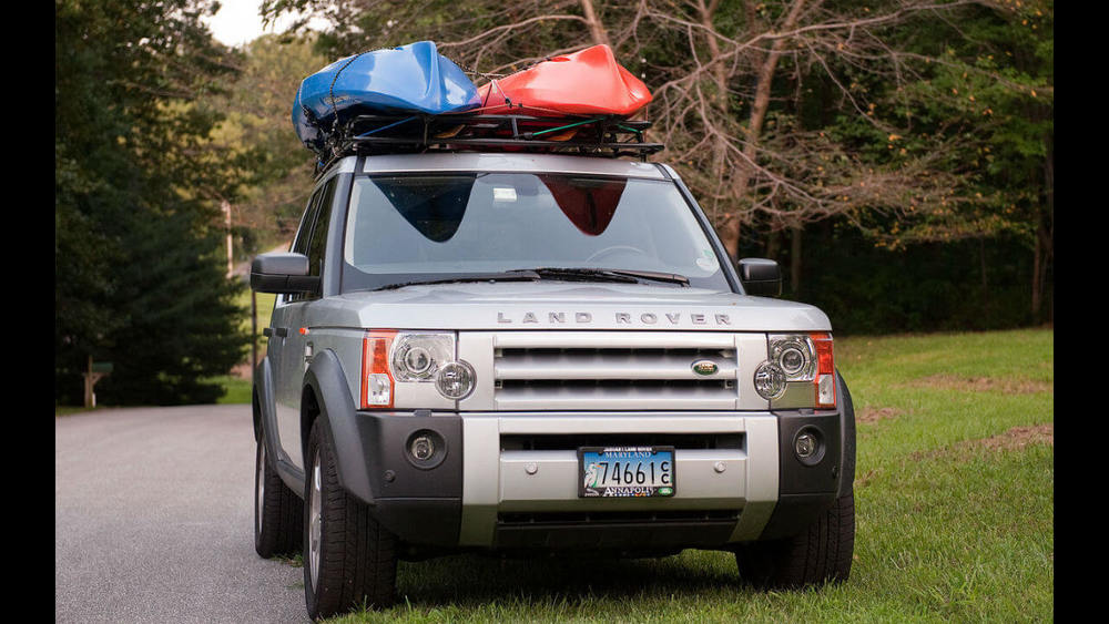 Overland Roof Rack, Standard Height, By Voyager Offroad, For Land Rover LR3 And LR4