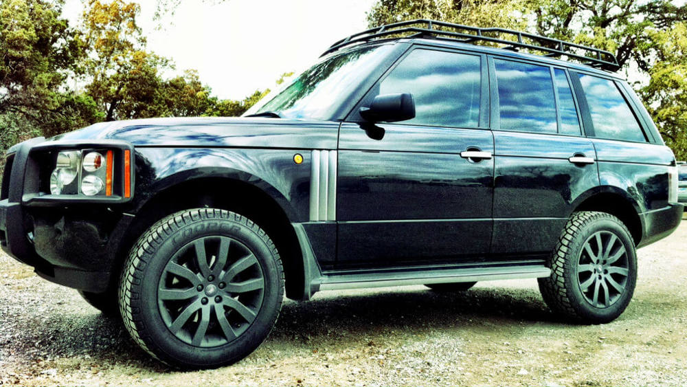 Overland Roof Rack, Low Profile Height, By Voyager Offroad, For Range Rover Full Size L322, 2003 - 2012