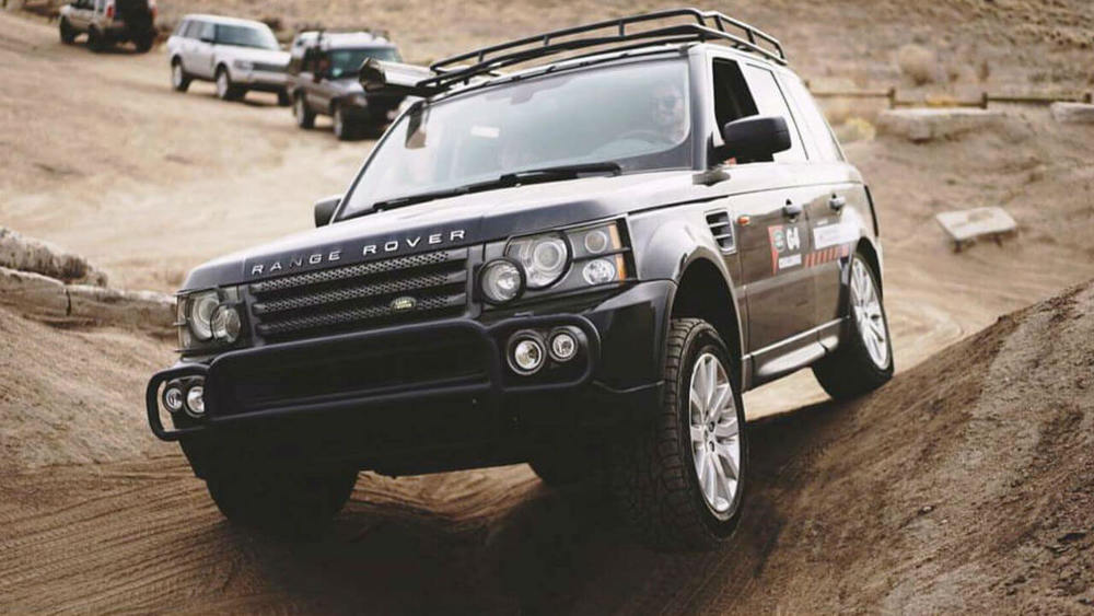 Overland Roof Rack, Standard Height, By Voyager Offroad, For Range Rover Sport, 2006 - 2013