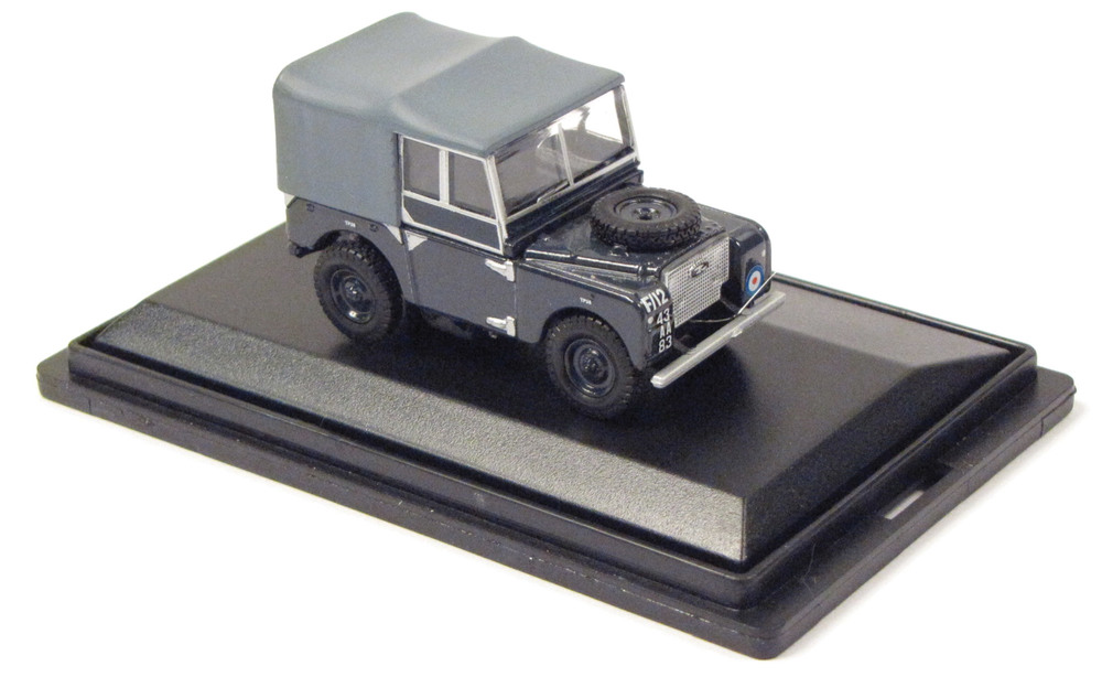 Toy Truck Land Rover Series I Raf 1:76 Scale