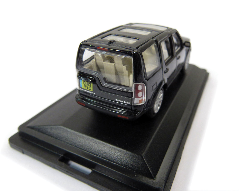 Diecast Collectible Toy Truck, Land Rover LR4 Baltic Blue 1:76 Scale