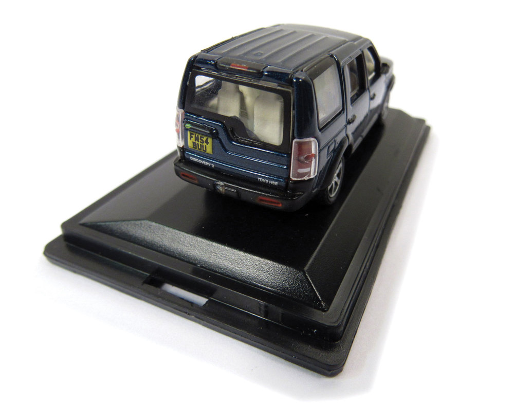 Diecast Collectible Toy Truck, Land Rover LR3 Cairns Blue 1:76 Scale