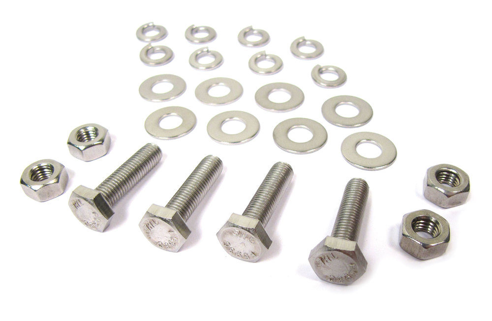Mud Flap Hardware Replacement Fixing Kit For Range Rover Classic