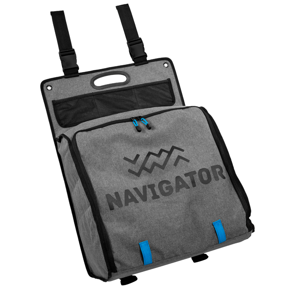 Outdoor Storage Buddy, Hanging Camp Soft-Pack Storage And Shelf Unit, By Navigator