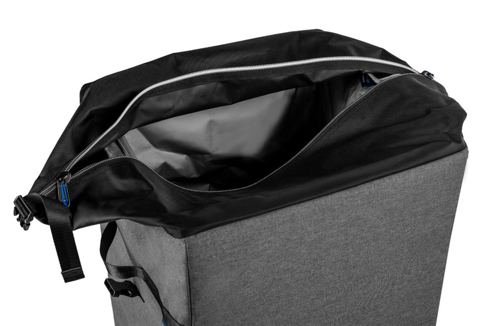 Collapsible Bin Buddy, 22 Gal Travel Trash Bin, By Navigator