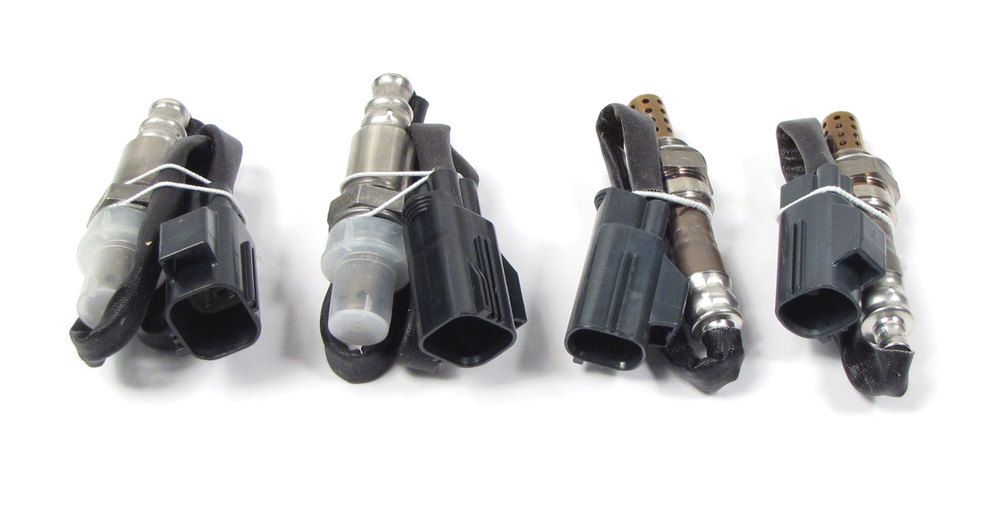 Oxygen Sensor Kit, 4-Pieces, Front And Rear Sensors, Plug And Play, For Land Rover LR3 And Range Rover Sport