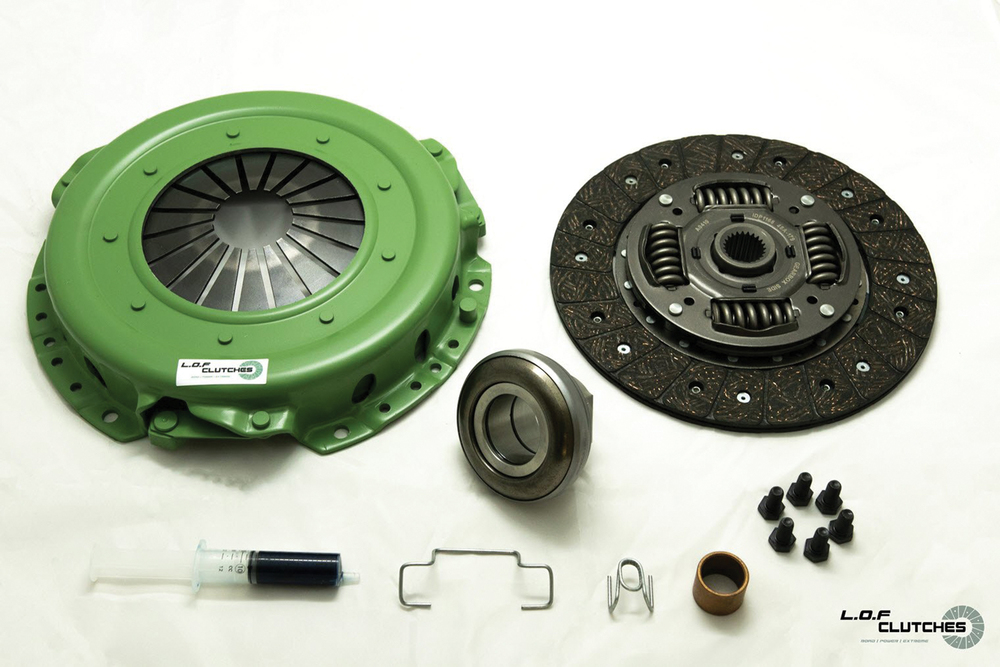 LOF POWERspec Clutch Assembly For Land Rover Defender 200 And 300 Tdi, 2.8 Tgv Hs International