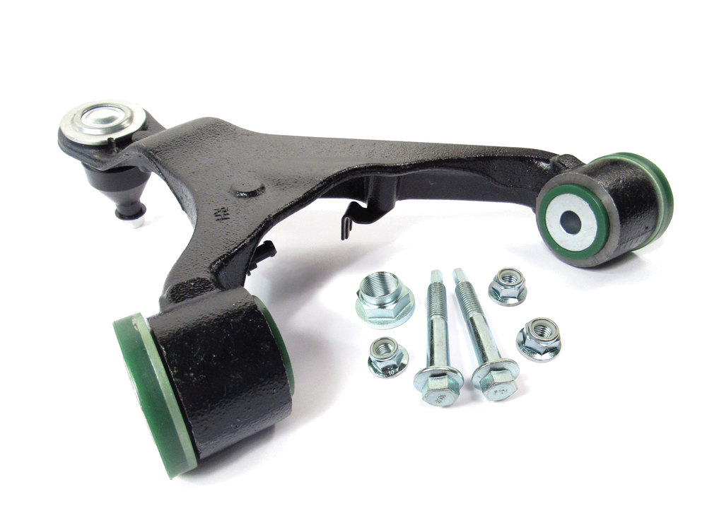 Right Hand Front Upper Control Arm With Upgraded Polyurethane Bushings And Bolt Kit For Range Rover Sport (2006 - 2009)
